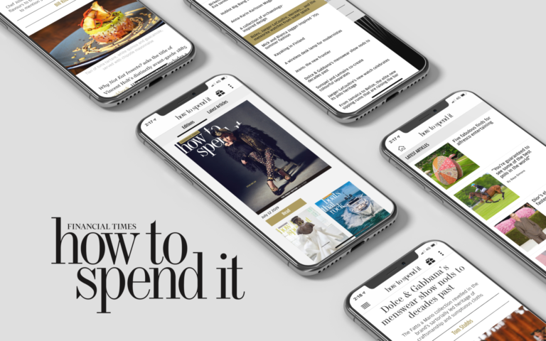 financial times how to spend it app