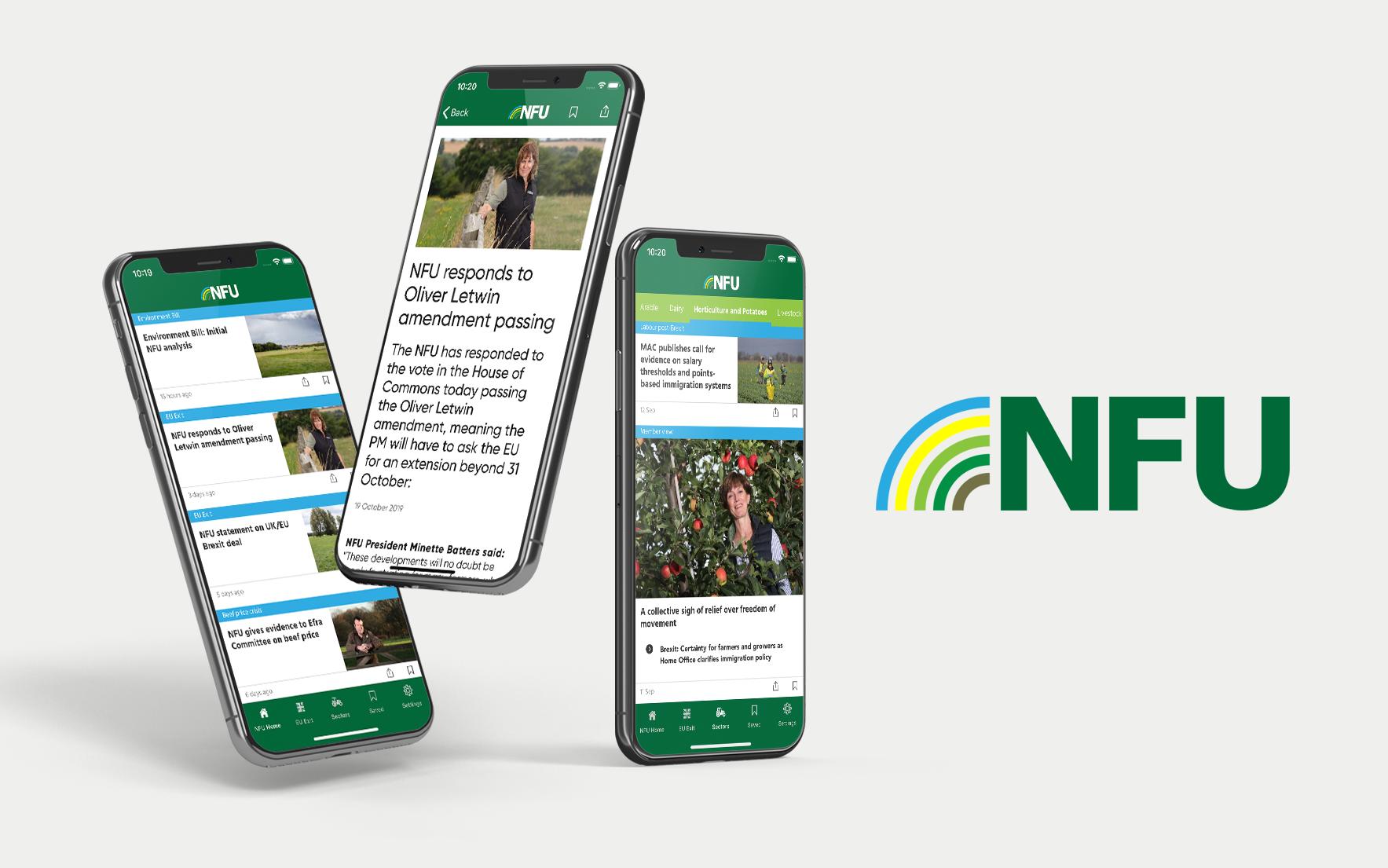 national farmer's union app