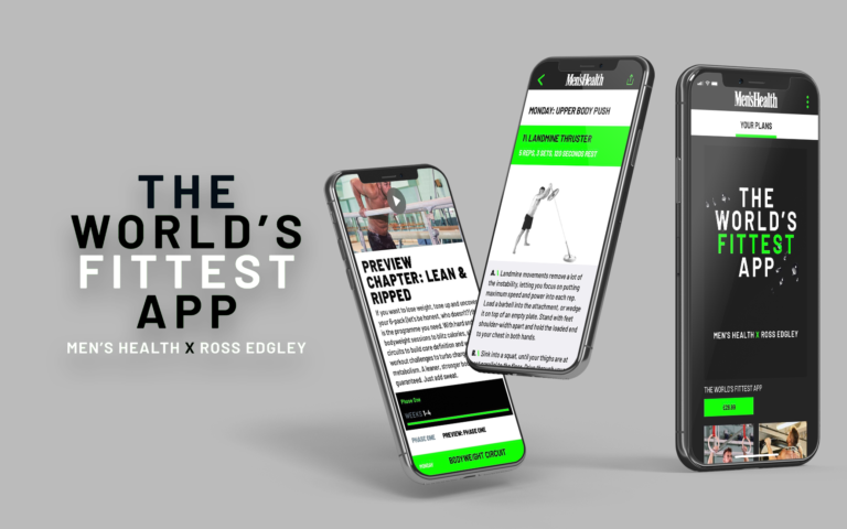 world's fittest app by men's health