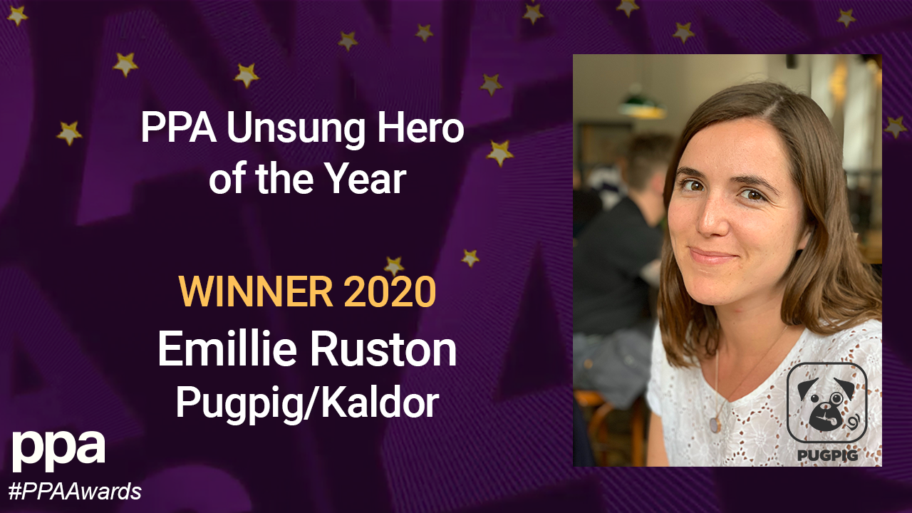 Emillie Ruston Unsung Hero of the Year