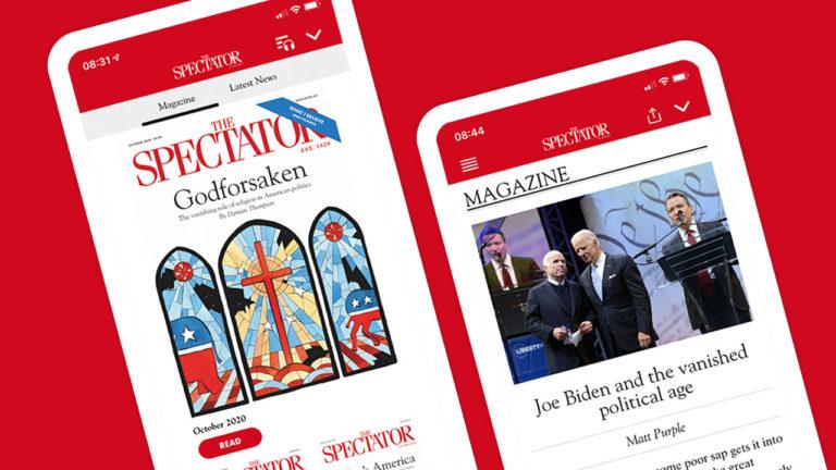 The Spectator US app